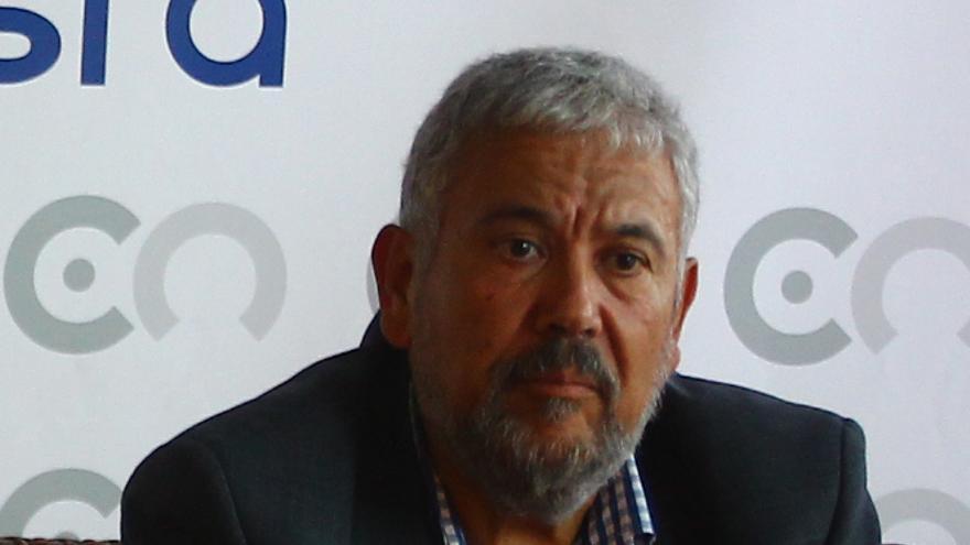 Pedro Medina Calero, portavoz del CCN en el Cabildo de La Gomera