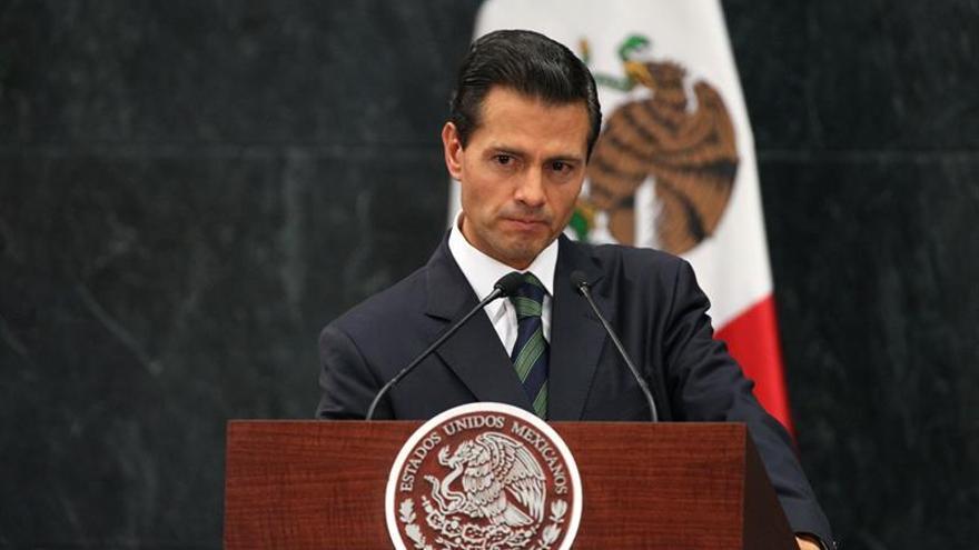 """Peña Nieto afirma que México está en una etapa de """"privilegiar el diálogo"""" con EE.UU."""