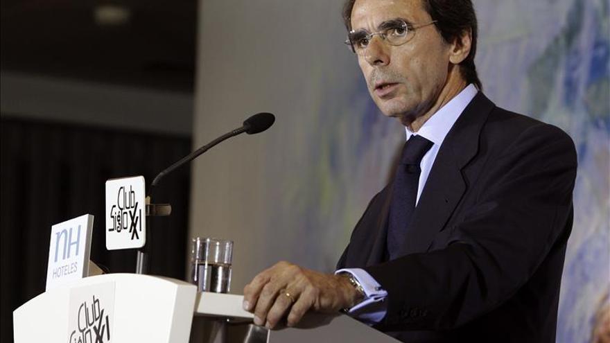 "Aznar advierte al PP de su ""responsabilidad histórica"" de reformas profundas"