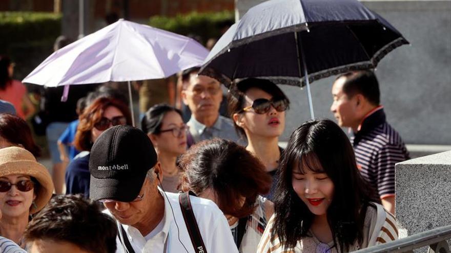 37 provincias continúan en alerta por calor pero ninguna por riesgo extremo