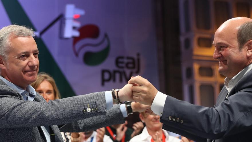 El PNV suma mayoría con el PSE y Vox da la sorpresa al entrar en la Cámara vasca