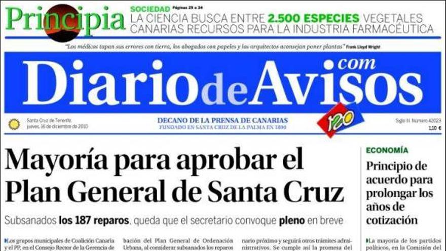De las portadas del día (16/12/2010) #3