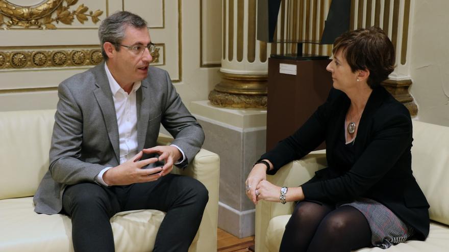 Diputación y Gobierno vasco impulsarán la competitividad de empresas y la modernización de infraestructuras en Gipuzkoa