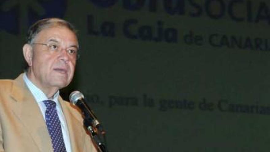 Juan Santana, presidente de la Federación de Vela Latina Canaria.