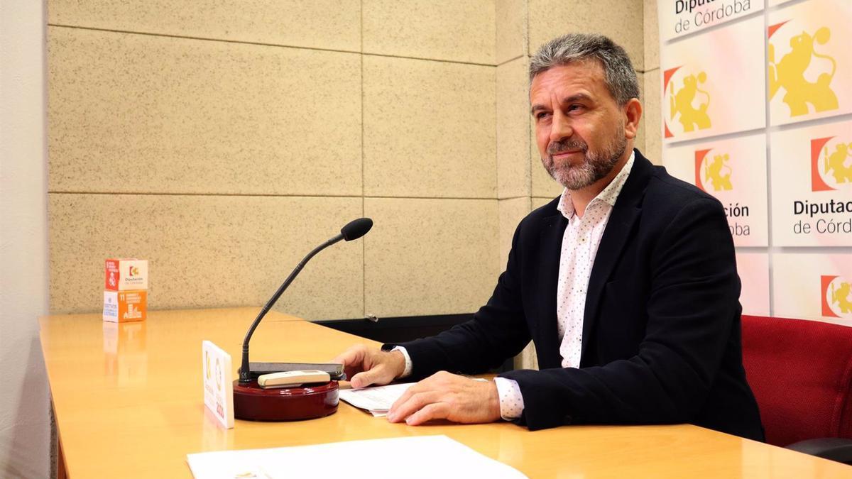El presidente del IPBS, Francisco Ángel Sánchez, en una imagen de archivo.