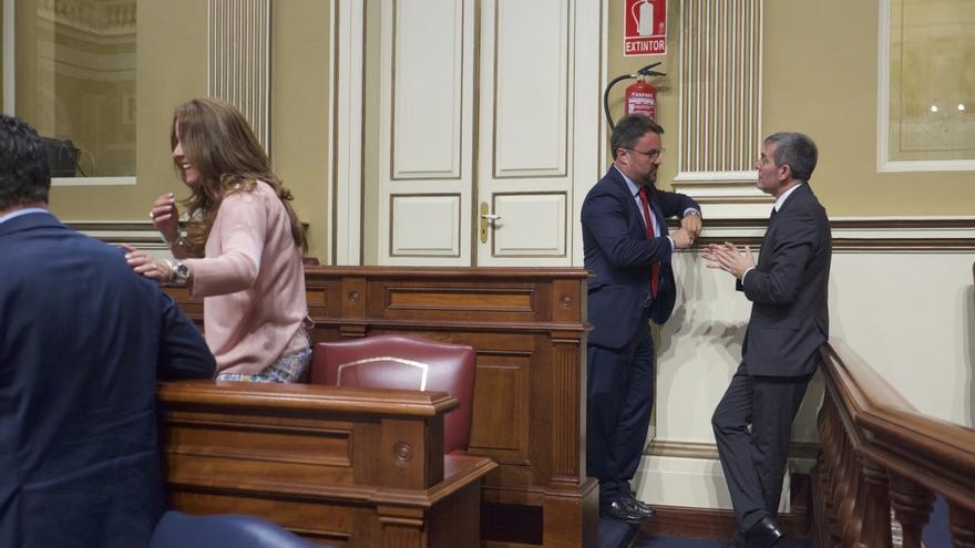 El PP avanza que se reunirá el martes con Clavijo (CC) para iniciar los trabajos sobre los presupuestos de Canarias