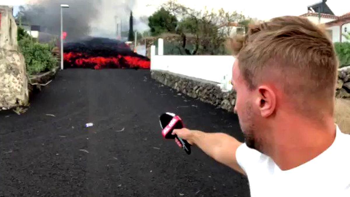 Fotograma del vídeo de Alejandro Rodríguez ('Cuatro al día')