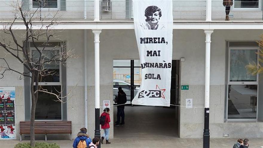 Universitarios y partidos soberanistas unen fuerzas para apoyar a Boya