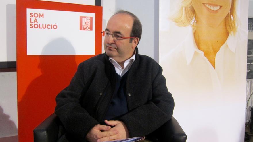 """Iceta (PSC) resume el cara a cara con una frase de Rajoy: """"Hasta aquí hemos llegado"""""""