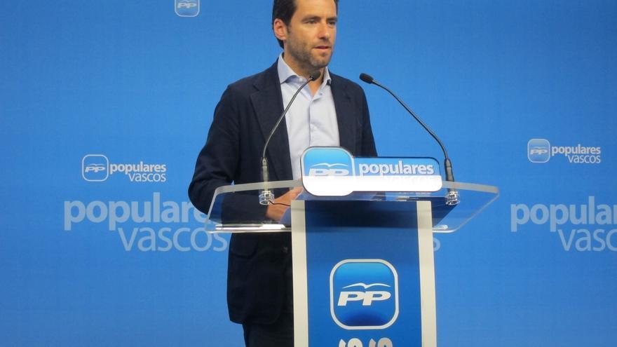 """PP advierte al PNV de que """"se acabó la broma"""" y de que no aceptará """"eufemismos"""" como el derecho a decidir"""