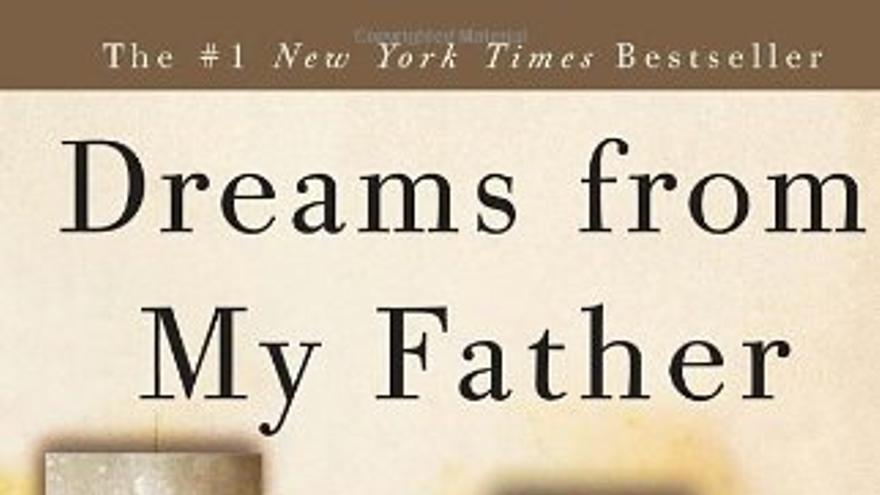 Portada de las memorias de Obama: Dreams from my father.