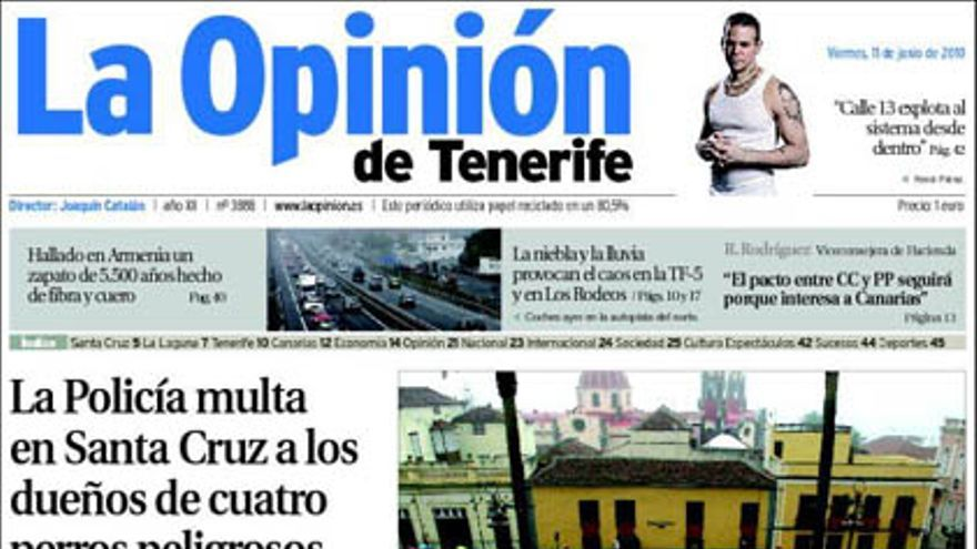 De las portadas del día (11/06/2010) #9