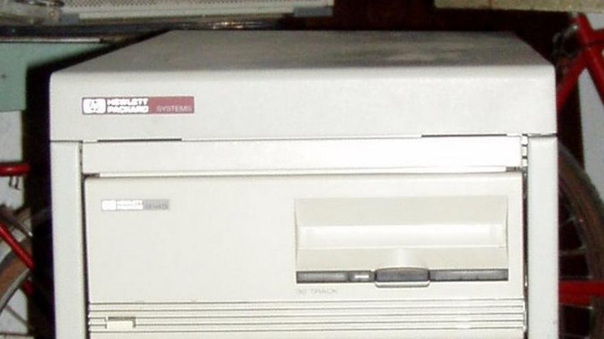 Máquina HP con el sistema operativo HP-UX (Imagen: Museum of Computers)