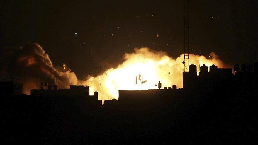 Israel bombardea un puesto militar de Hamás en Gaza en respuesta a unos disparos