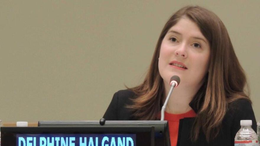 Delphine Halgand es la directora ejecutiva de The Signals Network