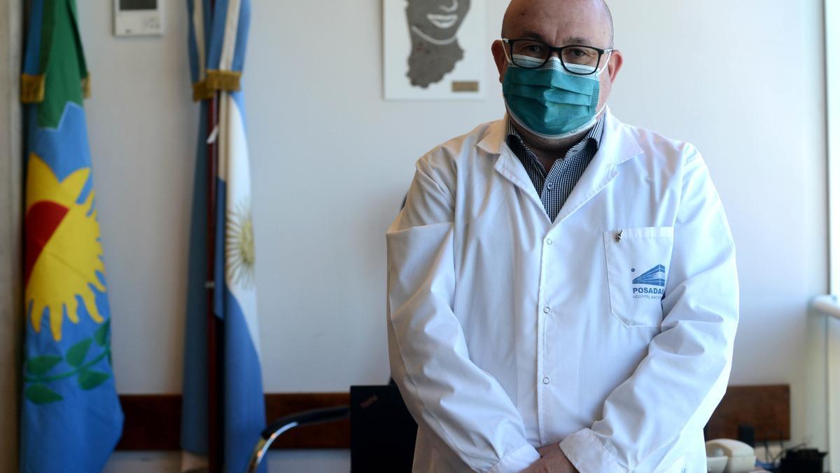 El director del Hospital Posadas, Alberto Maceira.