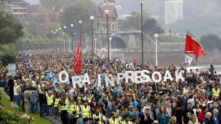 Una manifestación multitudinaria pide cambios en la política penitenciaria