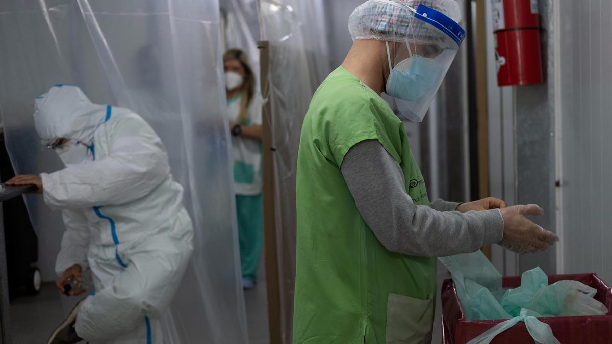 El sector de la Salud advierte sobre la tensión del sistema sanitario