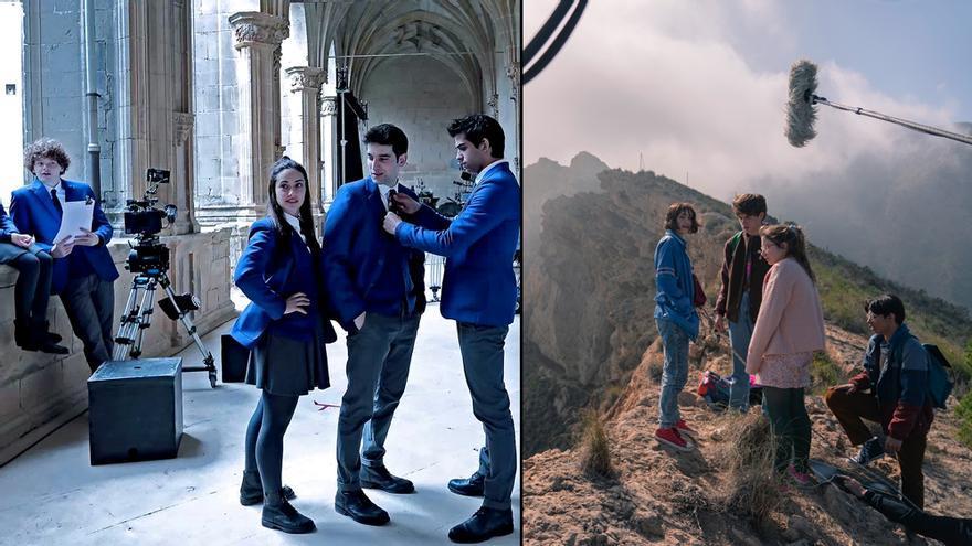 'El Internado: Las Cumbres' y 'Paraíso', en sus rodajes