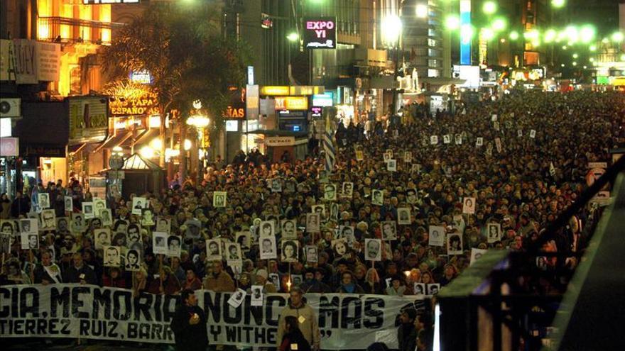 Familiares de desaparecidos en Uruguay marchan mañana en reclamo de justicia