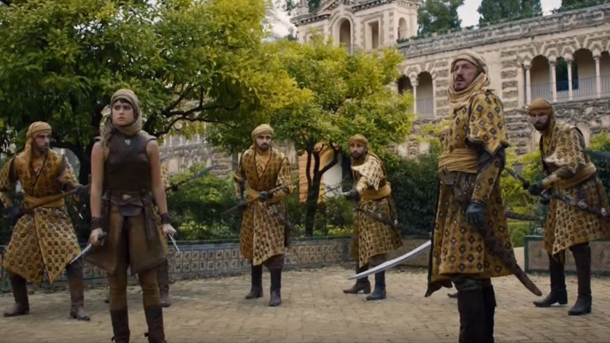Alcázar de Sevilla en Juego de Tronos (Temporada 5)