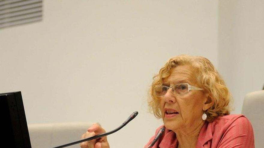 Carmena remarca que la hipotética entrada del PSOE en el gobierno debería ser consultada con bases de Ahora Madrid