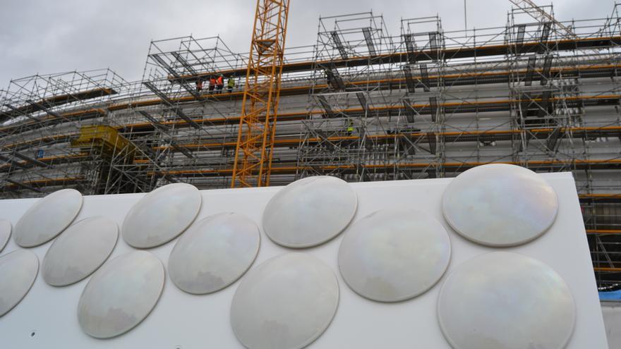 280.000 piezas de cerámica de gres recubrirán la estructura del Centro de Arte Botín.