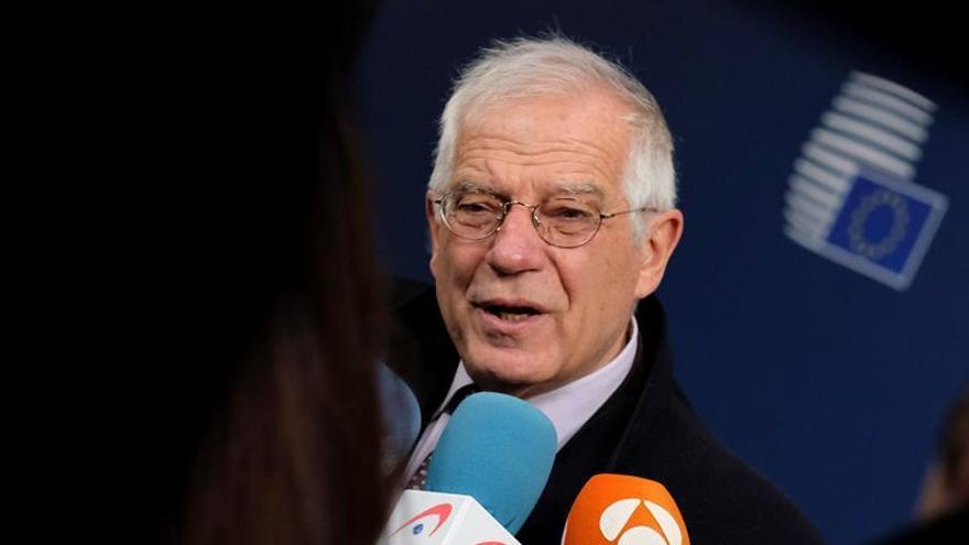"""Borrell cree que la sentencia del TJUE sobre el """"brexit"""" da flexibilidad para una solución"""
