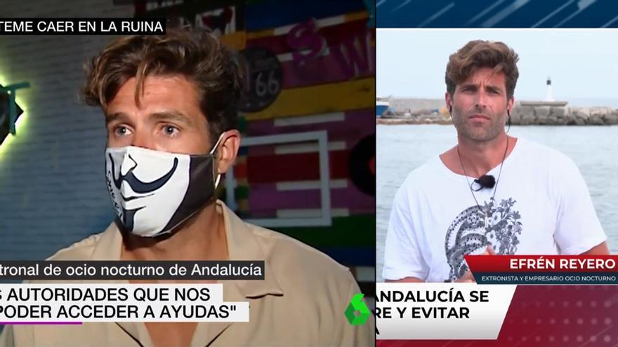 Efrén Reyero en 'laSexta Noticias' y 'Todo es mentira'