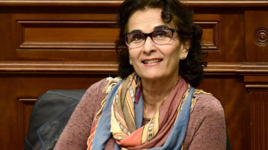 Asunción Delgado, diputada de Podemos en el Parlamento de Canarias.