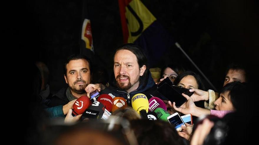 Iglesias pide una ley que devuelva a los españoles el impuesto de las hipotecas