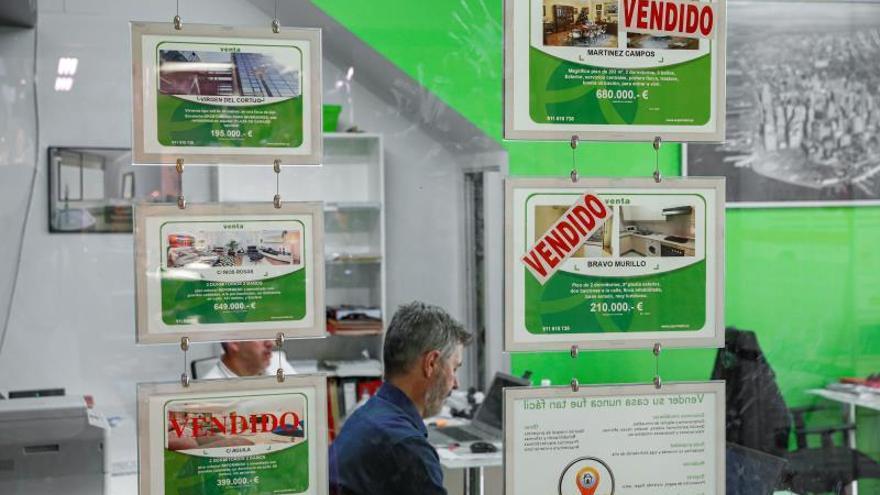 La venta de viviendas cae un 9,3 % en noviembre y suma cuatro meses de bajada