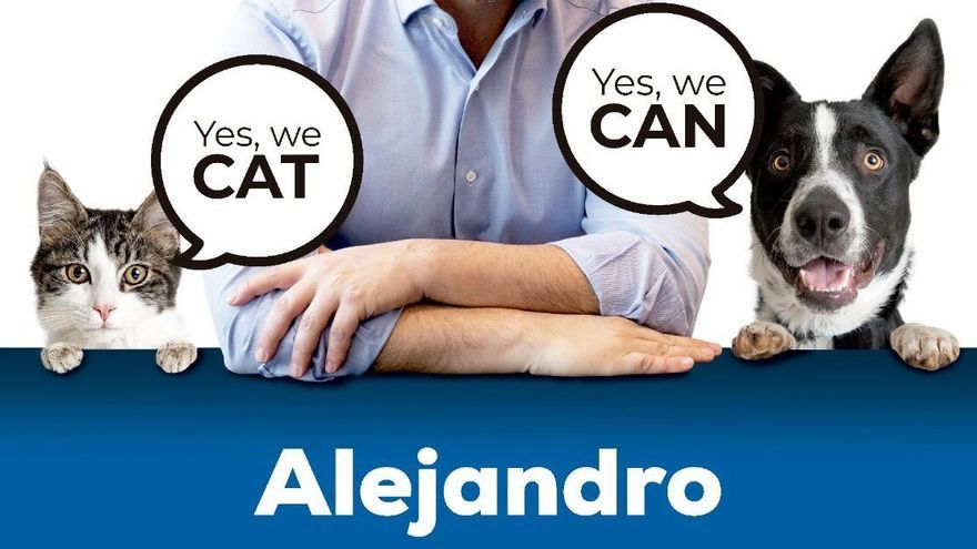 Imagen de la campaña promocional navideña del PP catalán