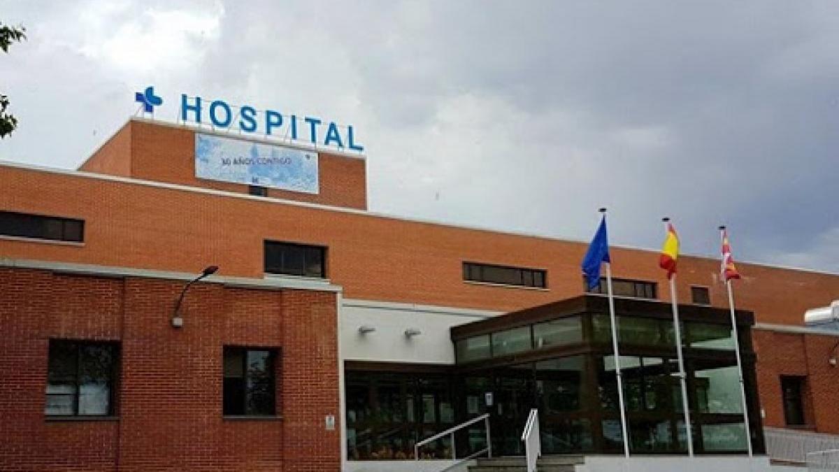 Imagen de archivo del Hospital de Medina del Campo, en Valladolid.