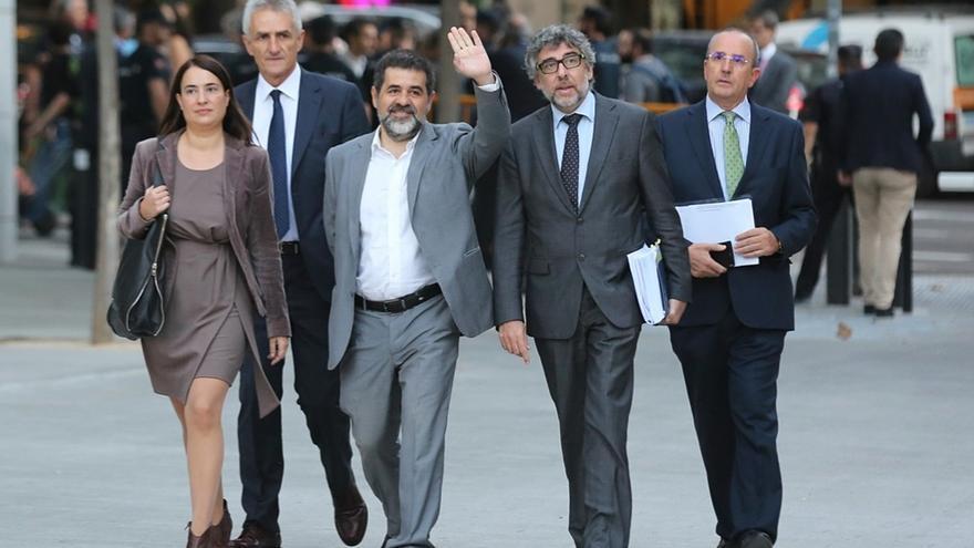 """Jordi Sànchez comunica su """"plena disposición"""" para aspirar a presidente de la Generalitat"""