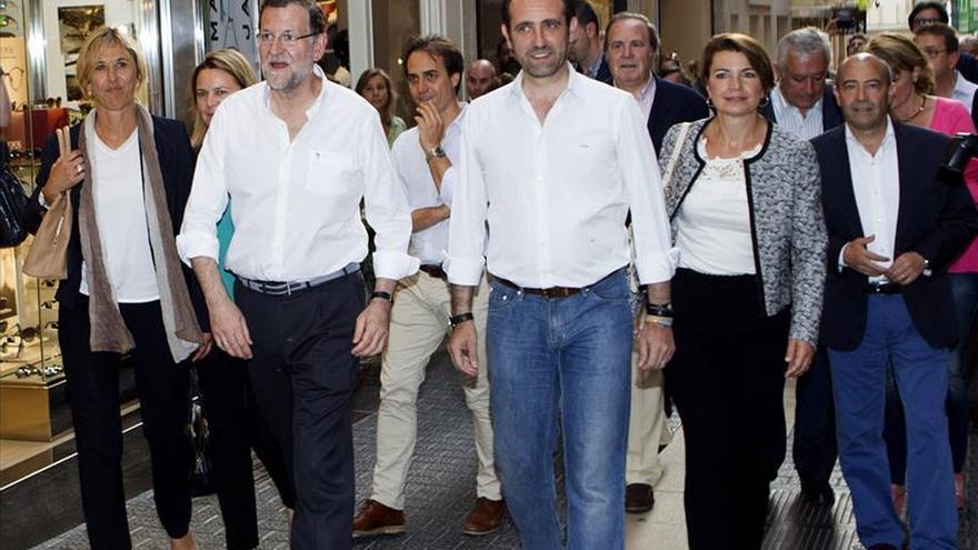 Denuncian haber sido retenidos por la policía en la visita electoral de Rajoy a Palma