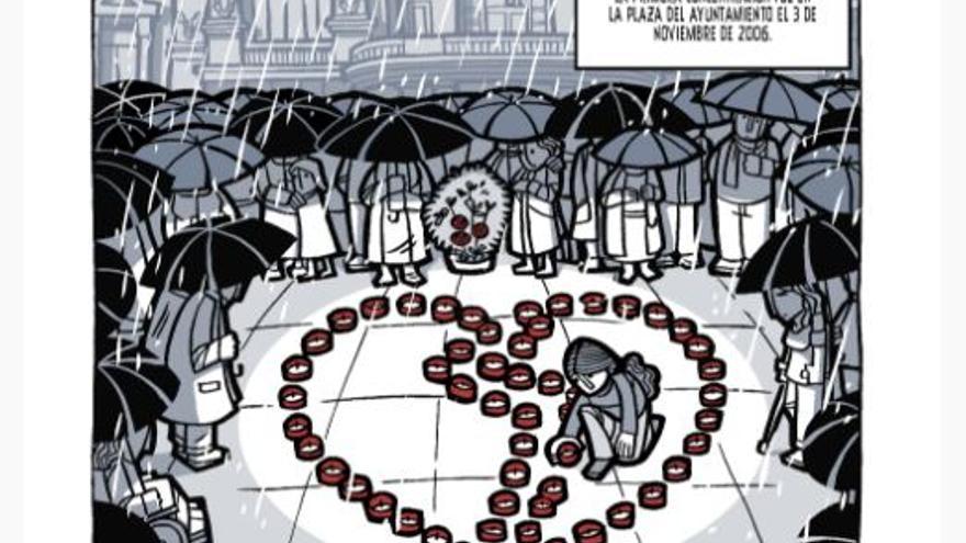 Una de las viñetas de 'El día 3'