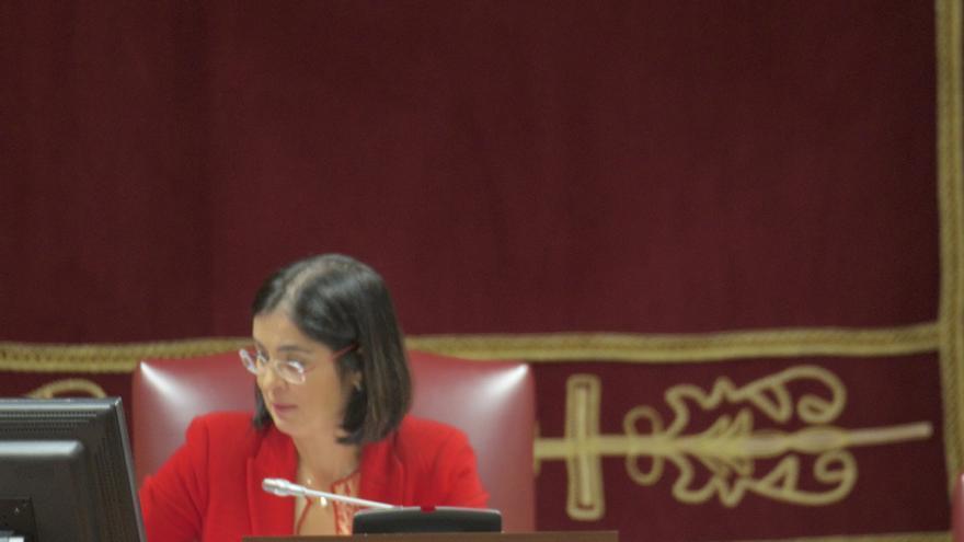 Manuel Marcos Pérez Hernández, diputado por La Palma y portavoz adjunto del Grupo Parlamentario Socialista en la Cámara regional.