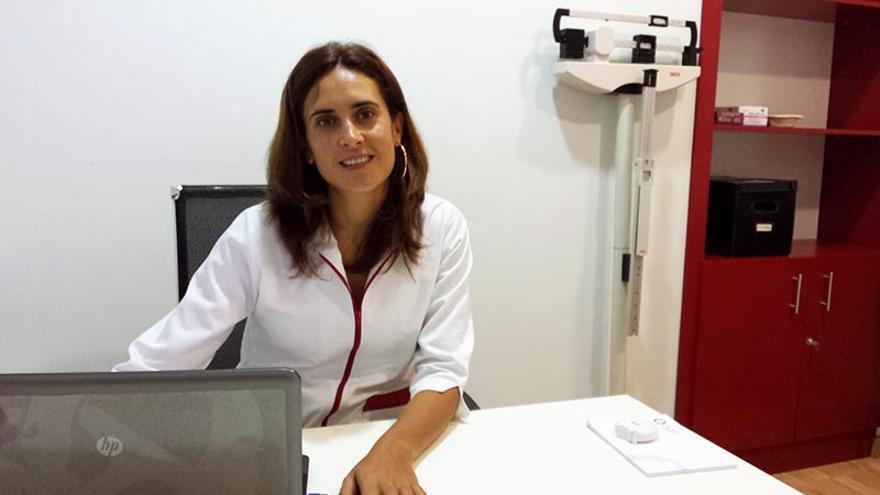 La nutricionista del Centro Médico Tres Ramblas, Patricia Varela.