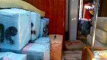 Dos detenidos con 10 toneladas de resina de hachís en un velero en Cartagena