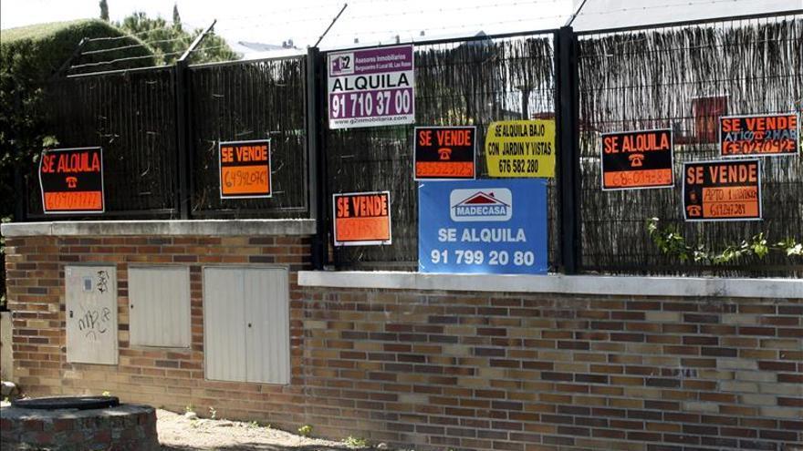Las ejecuciones hipotecarias en viviendas habituales crecen un 7,4 por ciento en 2014