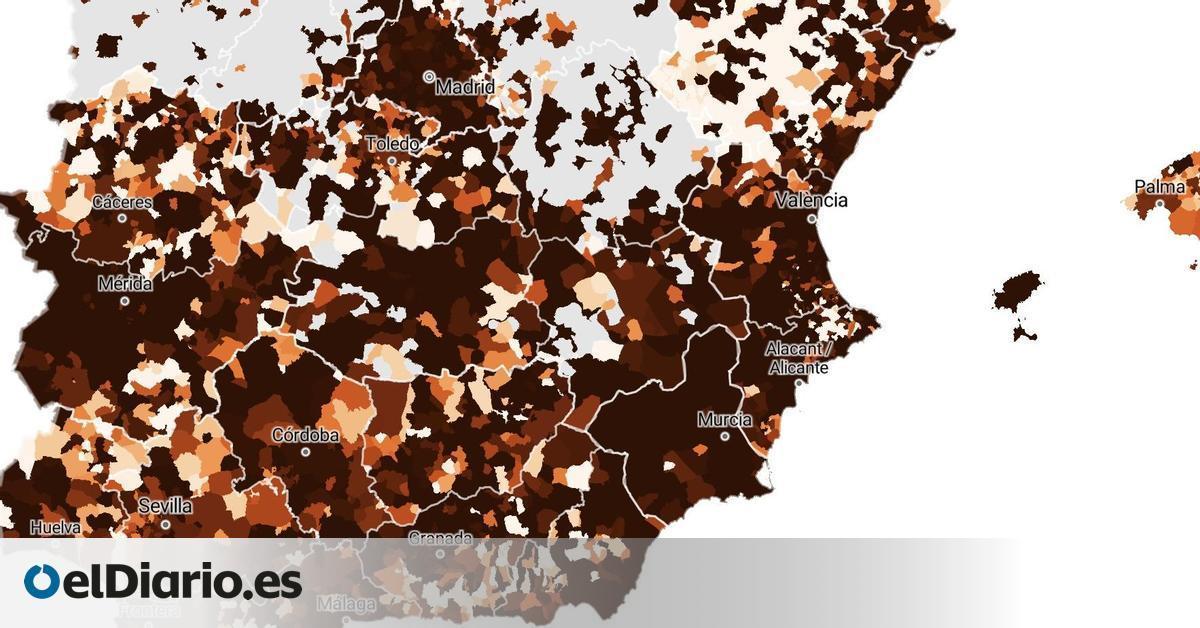 La tercera ola lleva a los municipios al extremo: 47 grandes ciudades están ya por encima de los 1.000 casos de incidencia
