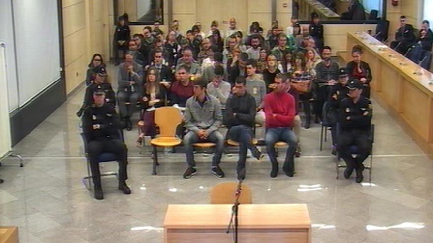 La Audiencia Nacional revisará esta semana la condena a los ocho jóvenes de Alsasua interrogando a nuevos testigos