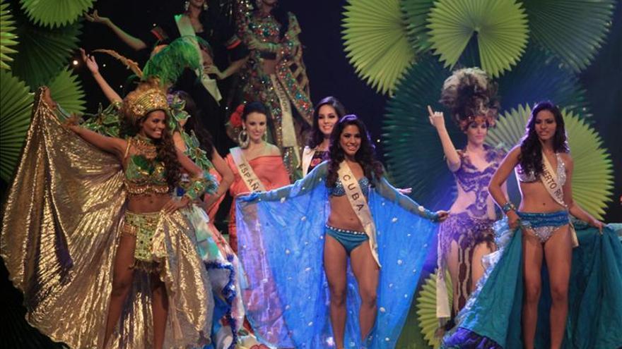 La boliviana Romina Rocamonje es la Reina Hispanoamericana de belleza 2014
