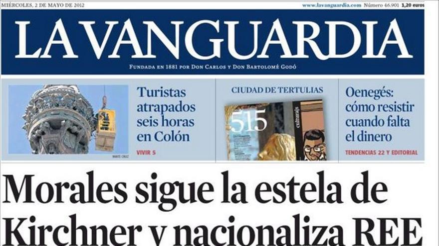 De las portadas del día (02/05/2012) #11