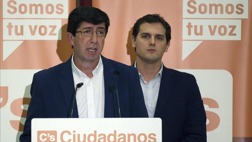 """Ciudadanos cree que una encuesta anticipa el """"cambio de tendencia en la política andaluza"""""""