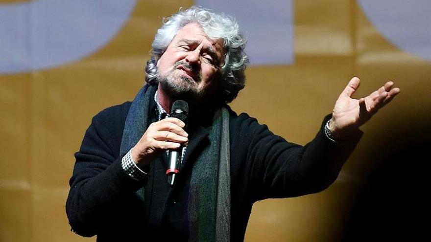 Grillo arremete contra la reforma constitucional de Renzi por dividir el país