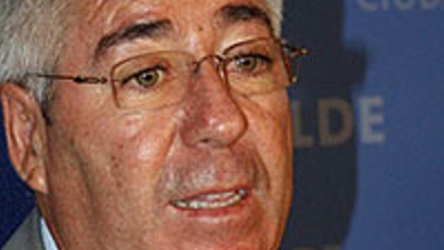 El actual alcalde de Telde, Aureliano Francisco Santiago Castellano.