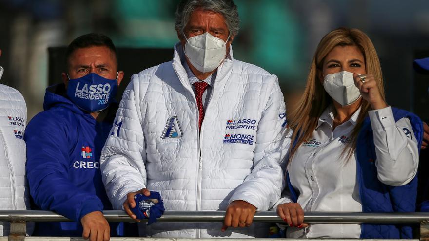 Guillermo Lasso pide el voto para que Ecuador no se convierta en Venezuela