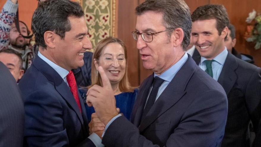 Feijóo: Si el PSOE pudiera firmar el documento de acuerdo con Vox lo haría